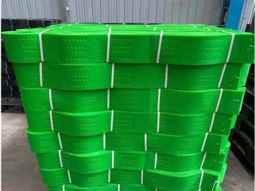塑料焊接土工格室_打孔土工格室_蜂窝土工格室