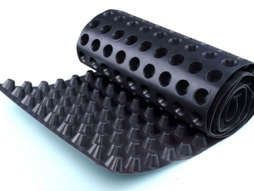 蓄排水板_塑料排水板厂家_屋面虹吸排水板