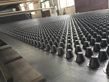 塑料凸凹型排水板_蓄排水板厂家_排水板生产商