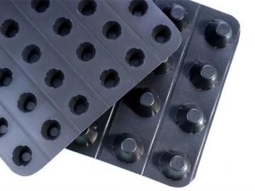 塑料排水板在回填时需要先行铺设无纺布