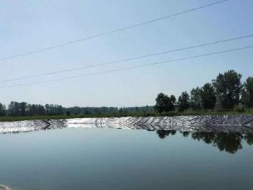 水产养殖防渗土工膜施工方案?