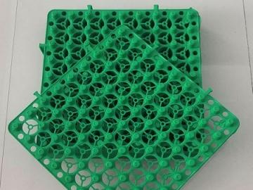 绿化蓄排水板能用于车库顶板和楼顶花园绿化吗