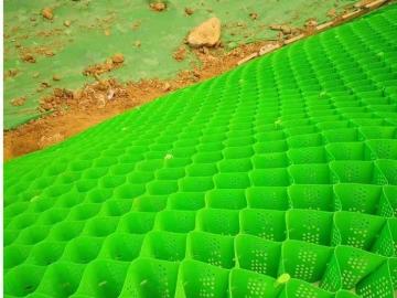 土工格室生态护坡、蜂巢格室护坡施工工艺、土工格室植草护坡
